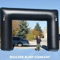 Black 90 Inflatable Race Arch