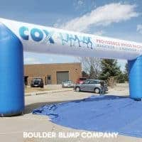 Cox Marathon Races Inflatable Arch