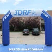 JDRF  Inflatable Race Arch - Nonprofit Arch