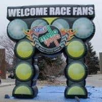 Mello Yello Race Inflatable Arch