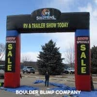 RV Solutions Inflatable Arch