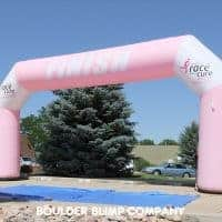 Susan G Komen Kansas City Inflatable Arch