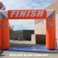 Turning Point Finish Inflatable Arch