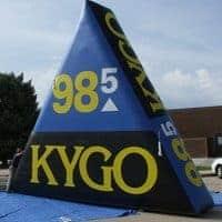 KYGO Radio Inflatable