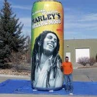 Marley Mellow Mood Inflatable Can