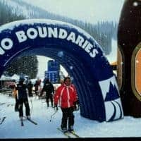 Inflatable Ski Arch