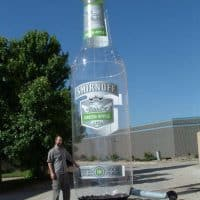 Smirnoff Inflatable Bottle