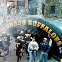 Colorado Buffaloes Inflatable Sports Tunnel