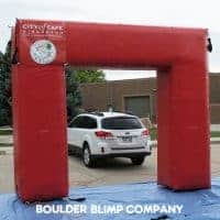City of Cape Girardeau Inflatable Arch