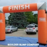 Heartland Timing Inflatable Arch