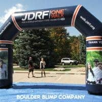 JDRF One Walk Inflatable Arch