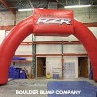 Polaris RZR Inflatable Arch