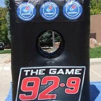 929 The Game Inflatable Football Toss