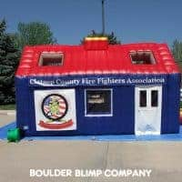 Clatsop County Fire Fighters Association Inflatable Fire Safety Education House
