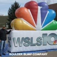 NBC WSLS 10 Inflatable Logo