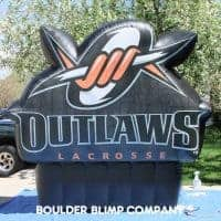 Outlaws Inflatable Logo