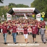 Pueblo Community College Inflatable Arch Sports Inflatable