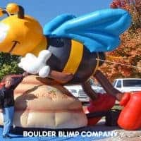 Bee on Hive Inflatable Character