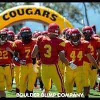 Cougars Inflatable Tunnel Event
