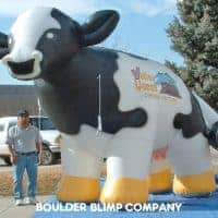 Valley Queen Cheese Factory Cow Inflatable