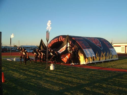 Dumas HS Inflatable Tunnel Boulder Blimp Sports Inflatable