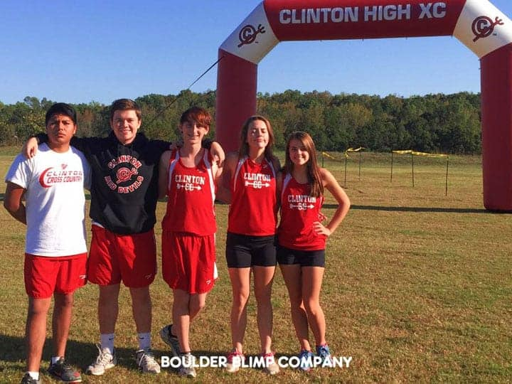 Clinton High XC Inflatable Arch Sports Inflatable