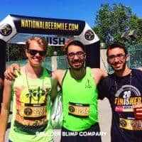National Beer Mile Arch