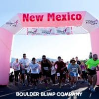 Komen for the Cure Nonprofits Inflatable Race Arch - Boulder Blimp