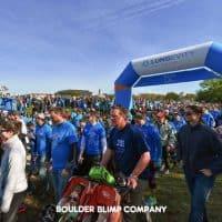 Lungevity Nonprofits Inflatable Arch - Boulder Blimp