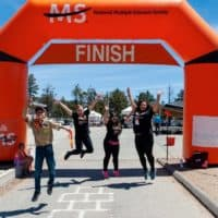 MS Society Nonprofit Inflatable Walk Arch - Boulder Blimp