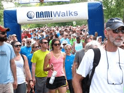 NAMI Walks Nonprofits Fundraiser Inflatable Arch - Boulder Blimp